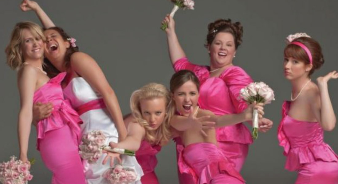 That's it – I'm calling out all of the cray-cray bridesmaids!