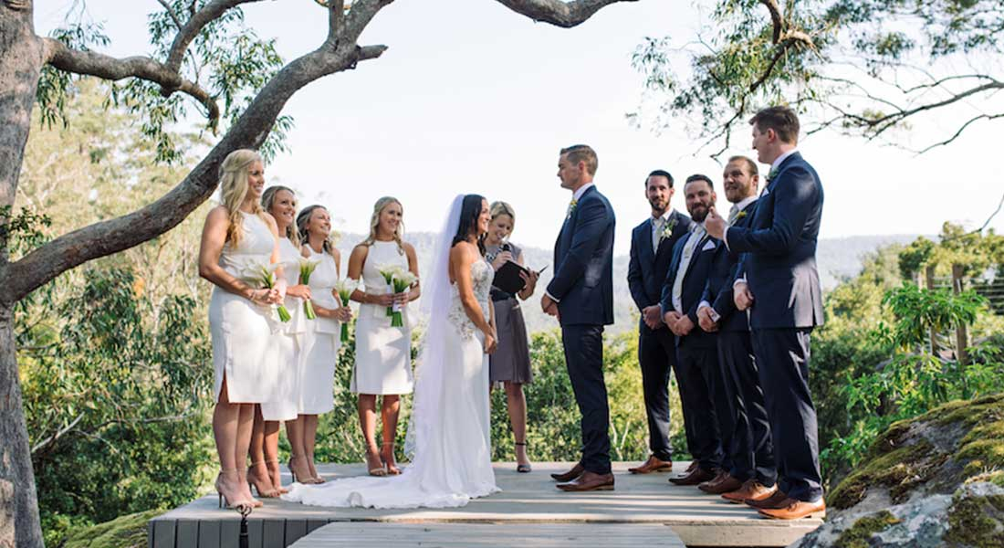 That moment when new ceremony photos hit your inbox..