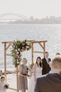 Bradleys Head Amphitheatre Wedding Ceremony Mosman Sydney Marry Me Nicky