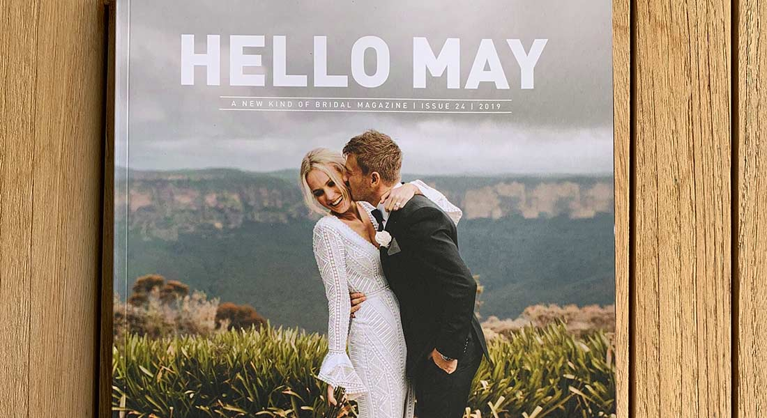 Hello May Cover Feature: Charlotte + Kieren