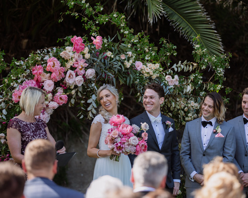 Austinmer Glastonbury Gardens Wedding Ceremony The Headlands Hotel Marry Me Nicky