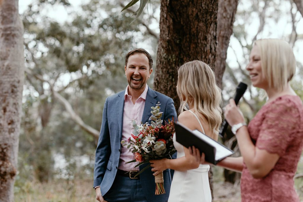 McKay Reserve Palm Beach Sydney Wedding Ceremony Samantha Heather Photography Marry Me Nicky Nicky Surnicky