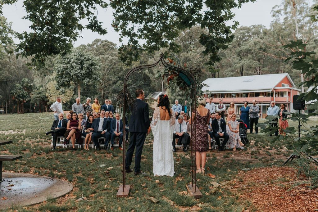 Audley Dance Hall Royal National Park Wedding Ceremony Kristie Carrick Photography Top 5 Sutherland Shire Wedding Venues Nicky Surnicky Marry Me Nicky Sydney Marriage Celebrant